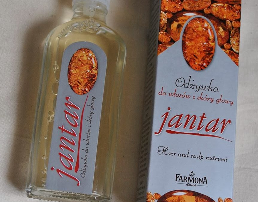 Jantar Farmona  – odżywka do włosów i skóry głowy