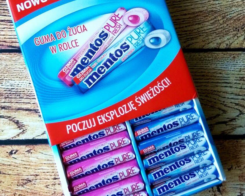 Mentos Pure Fresh kampania Streetcom