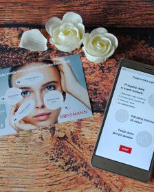 Test skóry z aplikacją Rossmann
