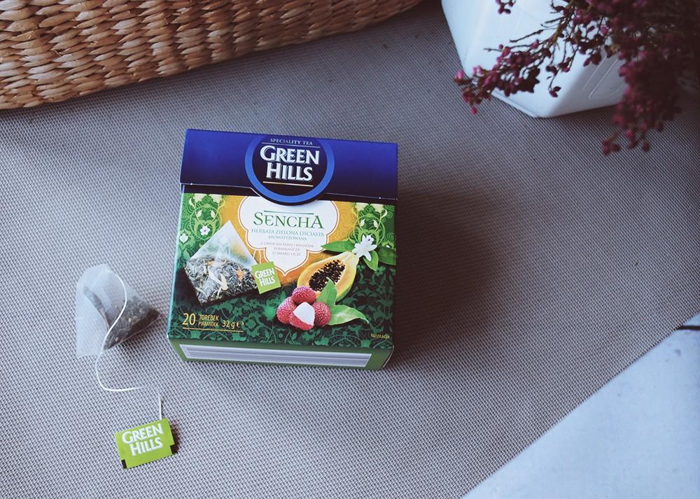 Zielone herbaty z Biedronki