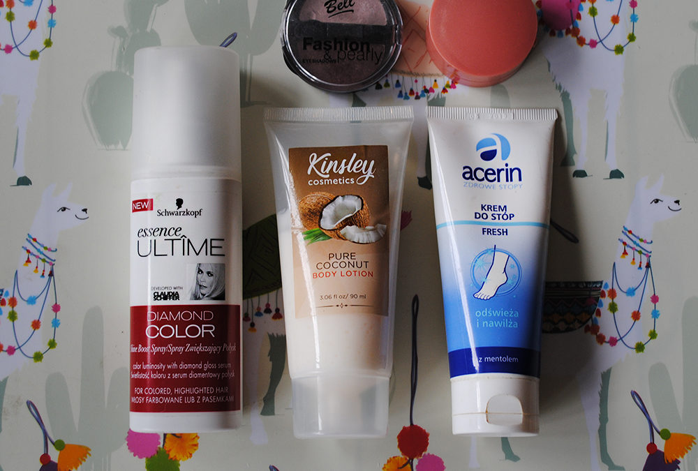 Sierpień z #ProjectPan – jakie kosmetyki wybrałam?