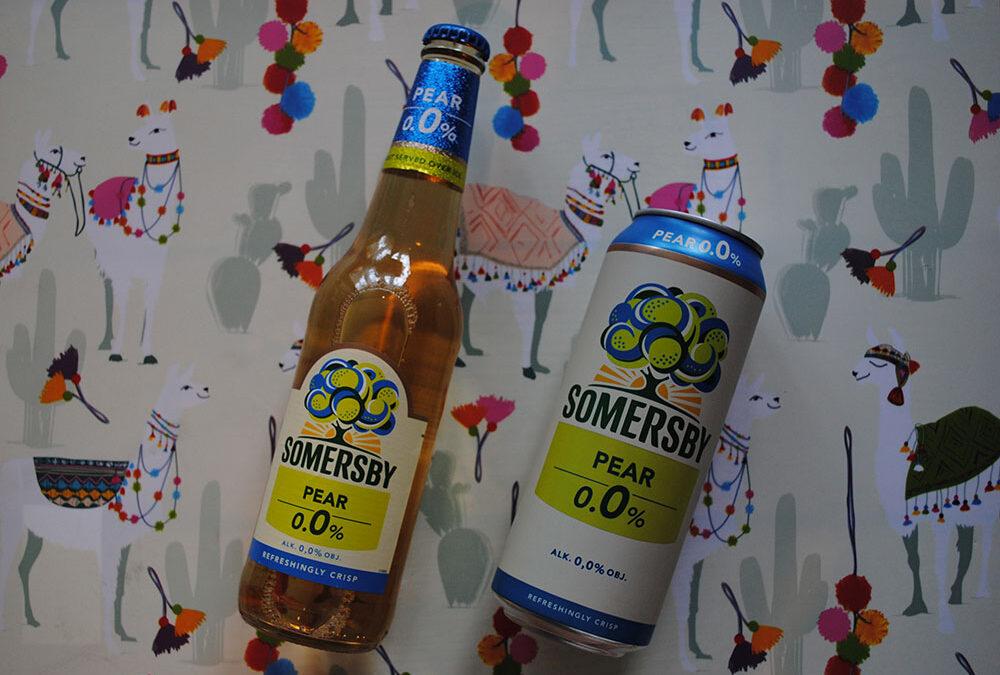 Somersby Pear 0,0% kampania Streetcom